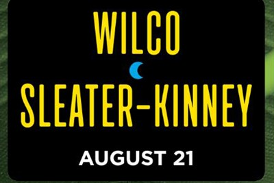 Wilco and Sleater-Kinney poster