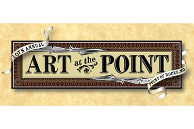 Art at the Point banner