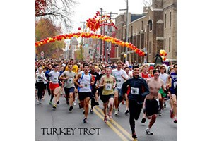Runners at the Frederick Turkey Trot