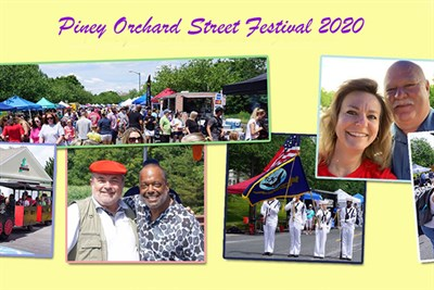 Piney Orchard Street Festival poster