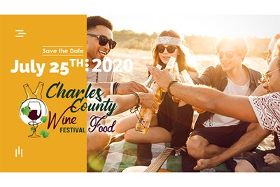 Charles County Wine & Food Festival poster