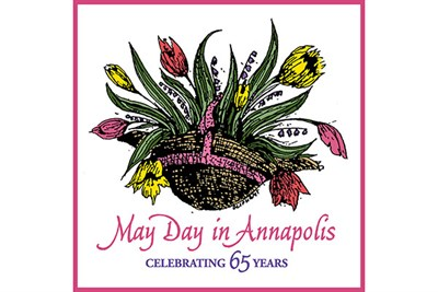May Day in Annapolis poster