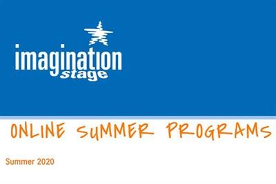 Imagination Stage ONLINE Summer Camps Poster