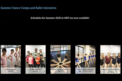 Metropolitan Ballet Theatre's DREAMS - ONLINE Camp