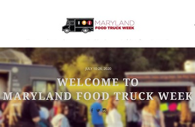 Maryland Food Truck Week poster