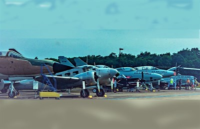 Outdoor flightline