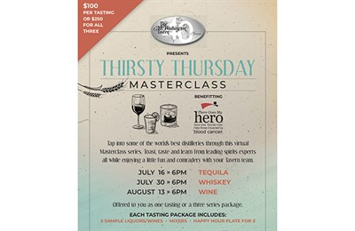 Thirsty Thursday MasterClass poster
