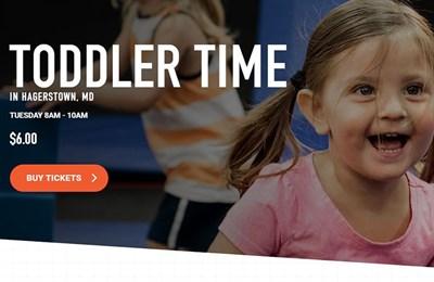 Toddler Time poster