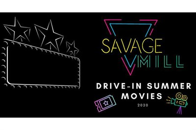 Savage Mill Drive-in Summer Movies poster