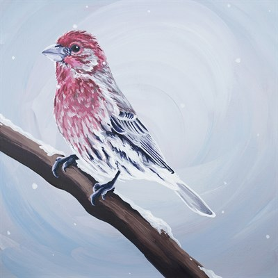 Acrylic Painting by Laura Wolf