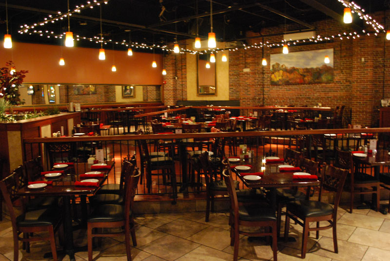 7 West Bistro Grille interior view