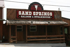 Sand Springs Saloon & Steakhouse exterior view