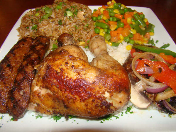 Peruvian style chicken at Sardis-Gaithersburg