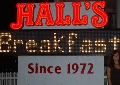 Halls Restaurant