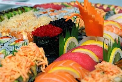 Image of ikebana sushi