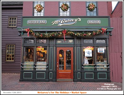Exterior of McGarvey's Saloon & Oyster Bar