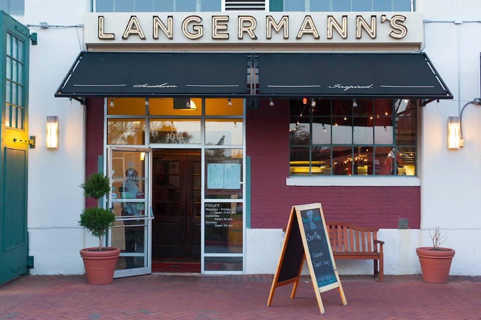 Langermann's exterior view