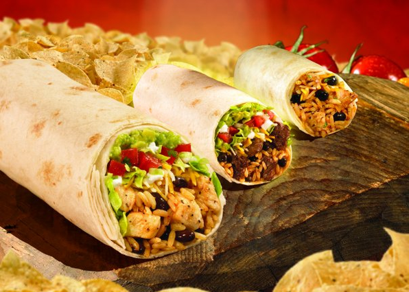 Moe's Southwest Grill wrap photo