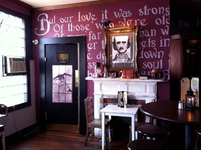 Annabel Lee Tavern interior view