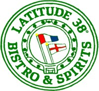 Latitude 38 Bistro and Spirits logo.