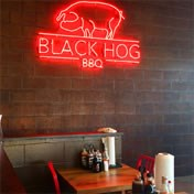Black Hog BBQ & Bar-Frederick Market Square interior