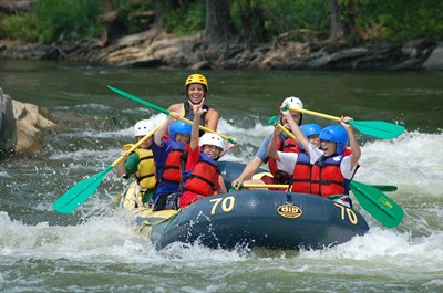 Rafting the Shenandoah and Potomac Rivers