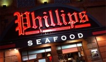 Phillips Seafood-Baltimore Inner Harbor signage
