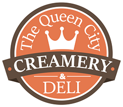 Queen City Creamery, Coffee Bar & Deli logo