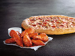 Pizza and Wings -
