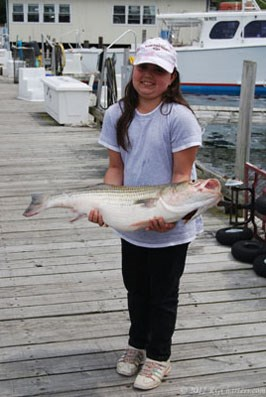 Big catch for the Little Lady