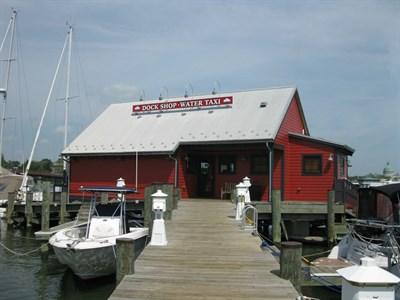 Annapolis City Marina dock.