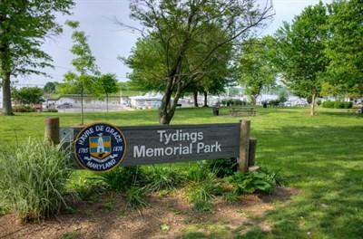 Millard Tydings Memorial Park signage