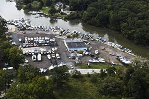 Overview of Baltimore Boating Center.