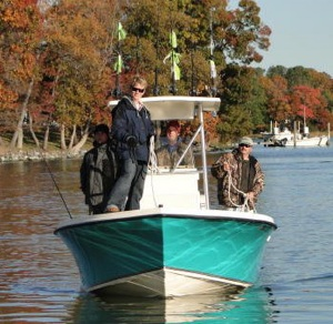 Gentlemen of the Dog Dayz fishing boat