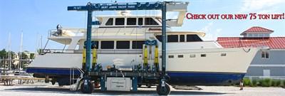 Bert Jabin's Yacht Yard Lift