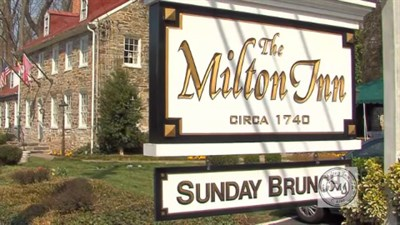 The Milton Inn signage