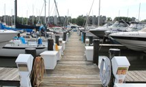 Chesapeake Harbour Marina.