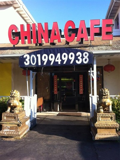 China Cafe entrance.