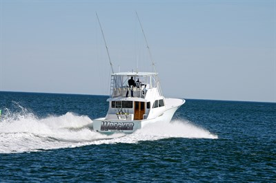 Blunt Sportfishing Charter Heads Out for the Day.
