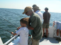 Day out charter fishing