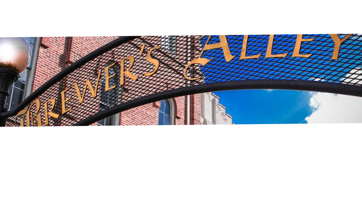 Brewer's Alley Restaurant & Brewery sign.