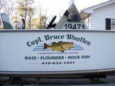 Capt. Bruce Wootten's Charters