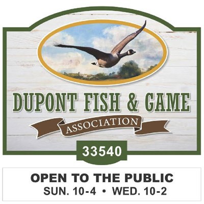 Photo Credit: DuPont Fish & Game Association