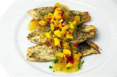 Broiled Tilapia -