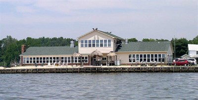 Fitzie's Marina Restaurant & Pub on Breton Bay -
