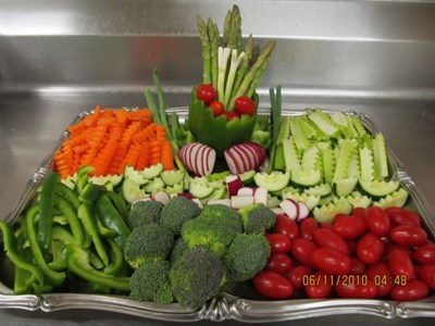Photo of vegetable platter