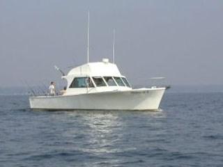 Enjoy fishing aboard Hooked Up II.