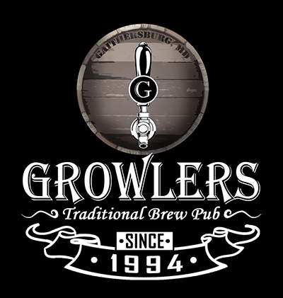 Growlers Restaurant and Brewery logo