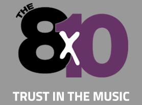 The 8X10 logo