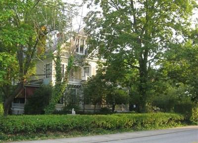 The Victorian Crisfield Crockett House.